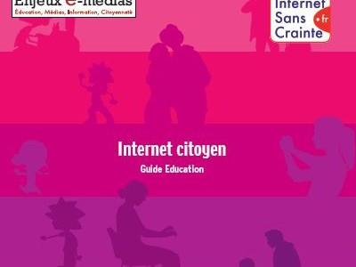 Après le guide parents, Enjeux e medias (dont la Ligue de l'enseignement est membre fondateur) propose le guide éducation : « Donnons aux jeunes la maîtrise de leur vie numérique […]
